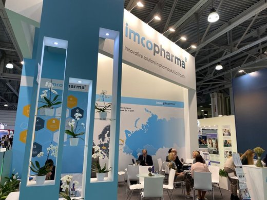 IMCoPharma на Pharmtech & Ingredients 2019